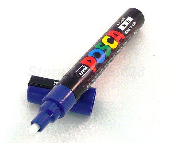 Marcer pentru marcarea matcilor, POSCA albastru 1 buc.
