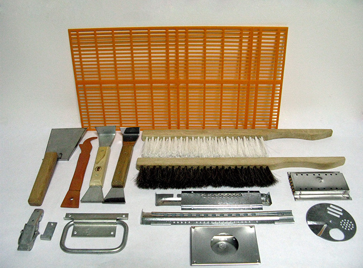 Hive tools and bee brushes