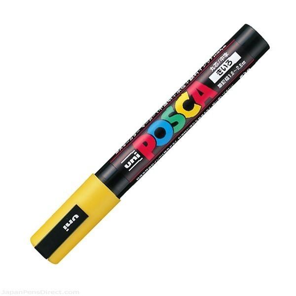 Marcer pentru marcarea matcilor, POSCA galben 1 buc.
