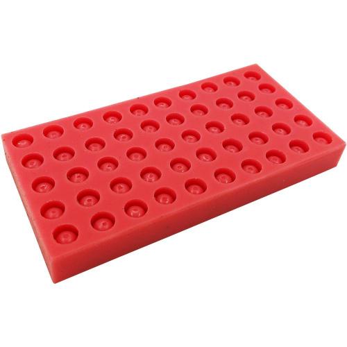 Силиконовые формы для изготовления восковых мисочек под Никот, 50 штук