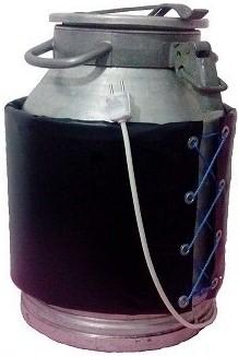 Decristalizator pentru incalzirea mierii in bidon