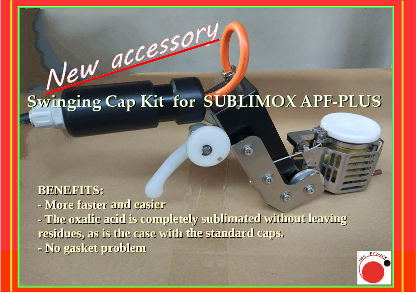 """Откидная крышка """"Swinging cap"""" для сублиматора SUBLIMOX APF PLUS"""