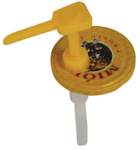 Дозатор с крышками для банок с медом