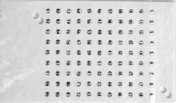 Numere pentru matci culoarea albă, din Cehia