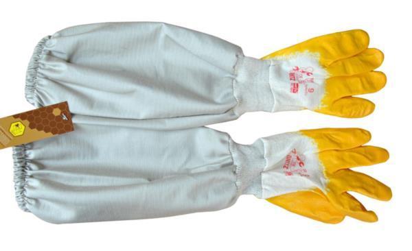 Перчатки ткане-резиновые