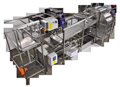 Linia automata pentru extragerea mierii de albine - CLASSIC