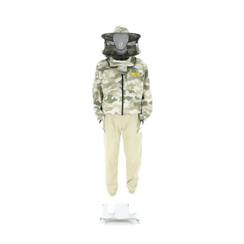 Куртка пчеловода комуфляжная