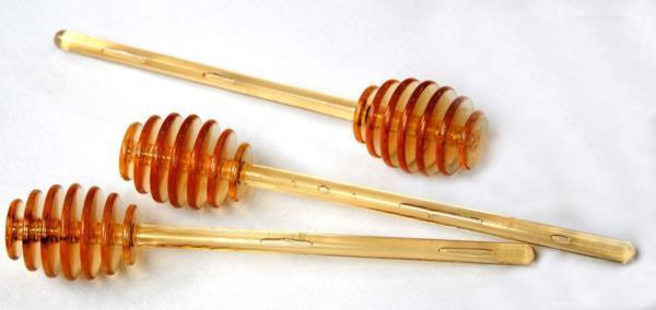 Lingurita pentru miere din plastic