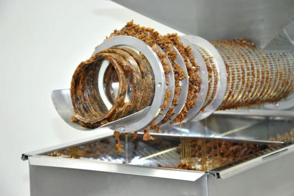 ОПЦИОН 2 -пресс для отжима забруса до 100 кг/час