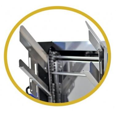 ОПЦИОН C - направляющие для рамок к столу для распечатки с ручным подавателем