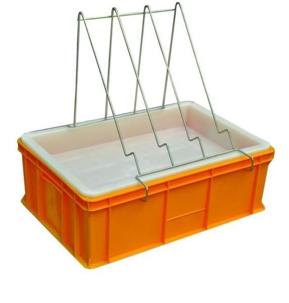 Ванночка для распечатки сотов 200 мм. с пластмассовым ситом