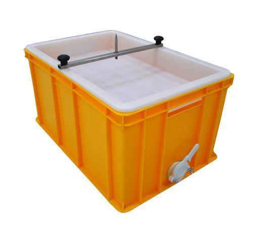 Ванночка для распечатки со стержнем,  300 мм. пластмассовое сито