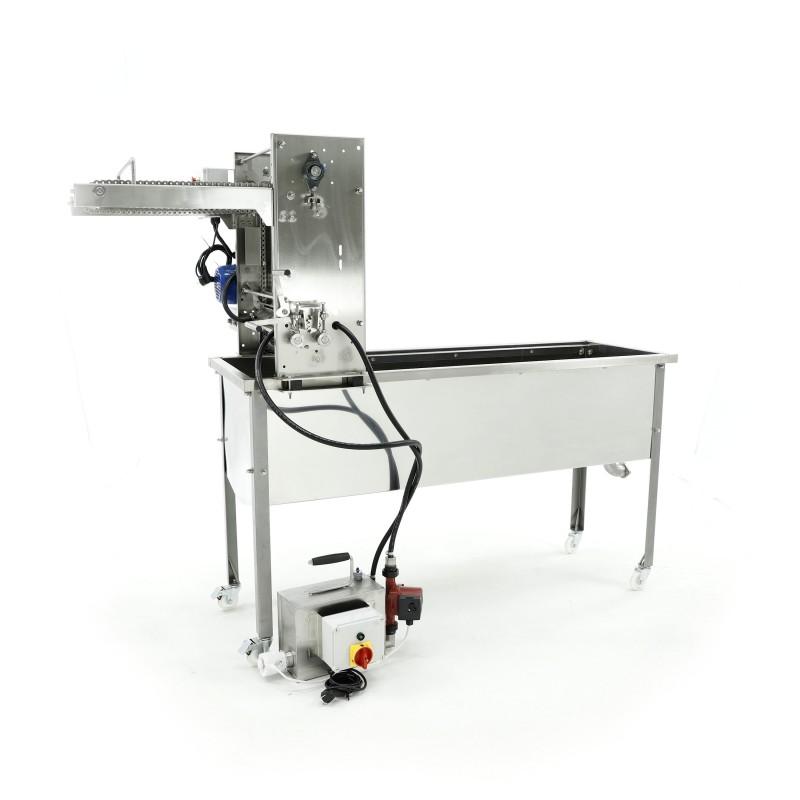 Стол для распечатки с цепным податчиком, с подогревом замкнутого цикла, 230В – МИНИМА