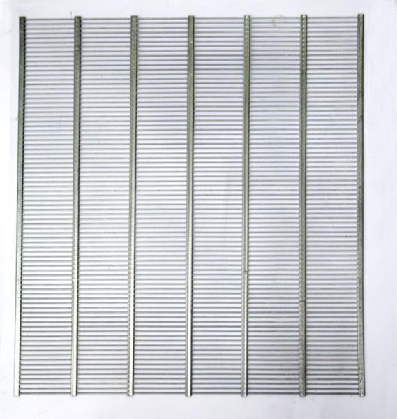 Разделительная решетка 46,5х390 мм. металлическая