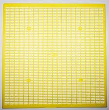Разделительная решетка пластиковая 500x500мм