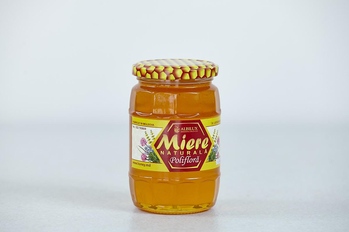 Мёд полифлерный 500 гр