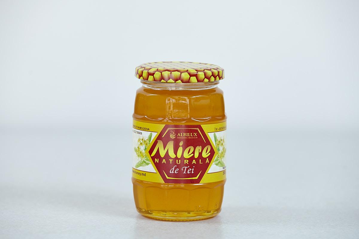 Мёд липовый 500 грамм