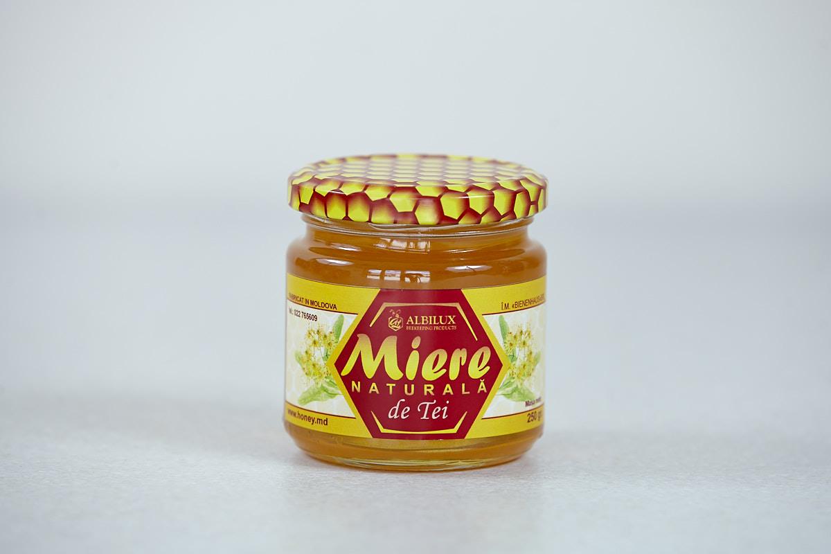 Мёд липовый 250 грамм