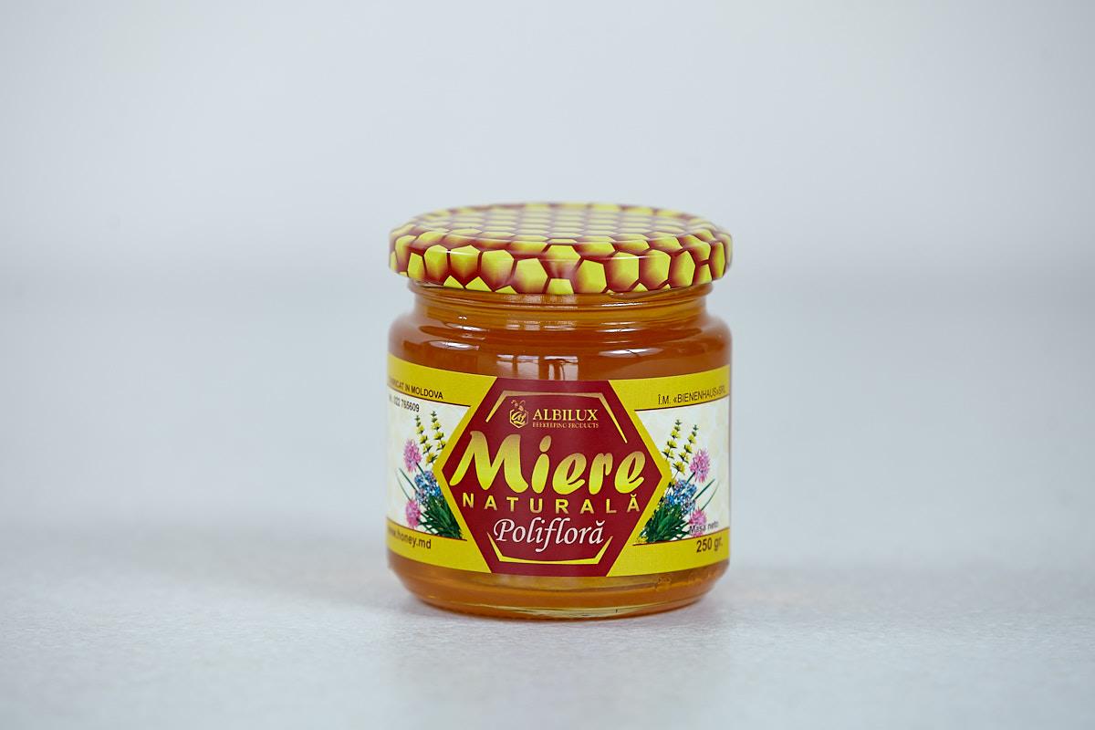 Мед полифлерный 250 гр