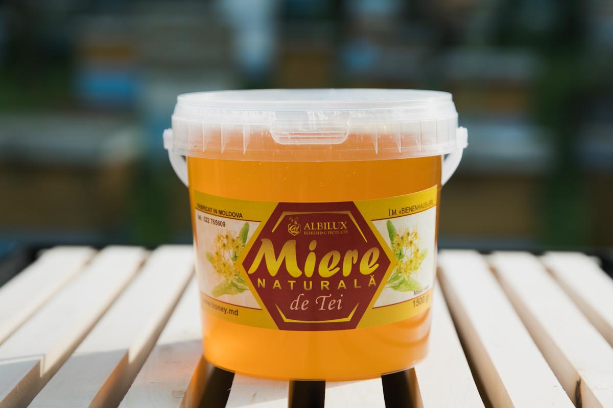 Мёд липовый мёд 1,5 кг