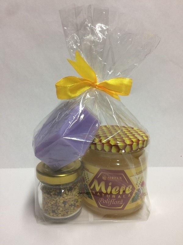 Подарочный набор эконом мёд цветочный