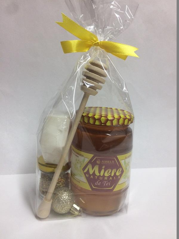 Подарочный набор мёд липовый