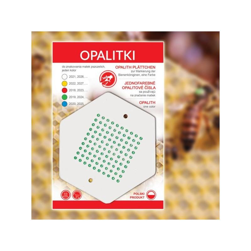 Numere pentru marcarea matcilor - verzi poloneze