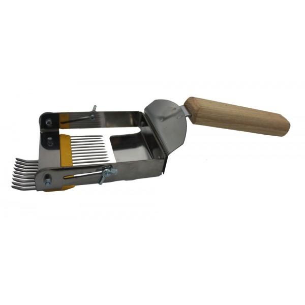 """Вилка """"Раскладушка"""" плюс, деревянная ручка"""