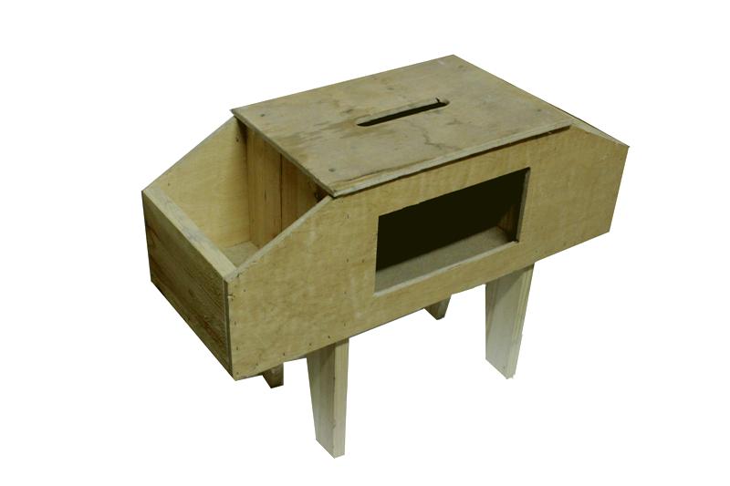 Tабурет пчеловода деревянный